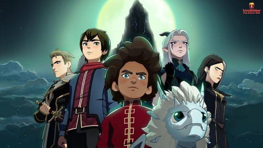 The Dragon Prince Season 4 Cast and Characters