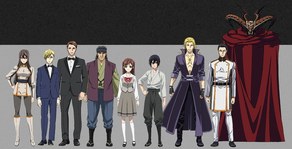 Sword Gai Characters and Crew